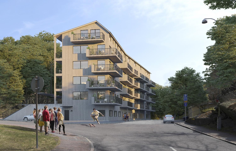 Byggemenskap Ärlan Gråberget Göteborg