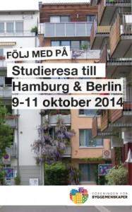 Studieresa till Hamburg-Berlin 2014