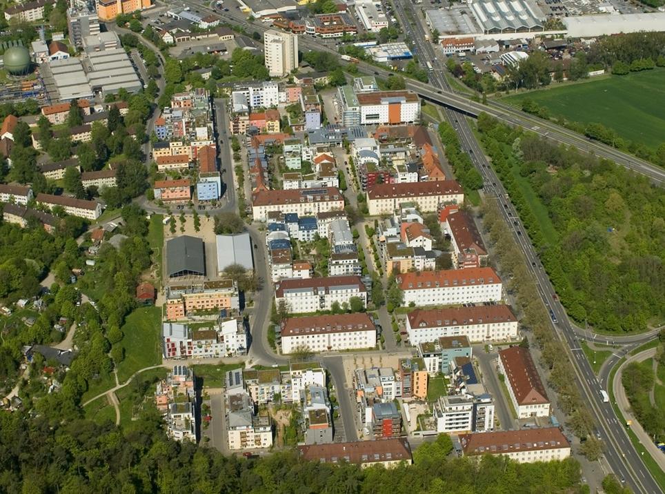 Byggemenskaper i Tübingen